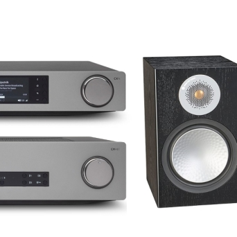 Cambridge Audio CXA81 + CXN v.2 + Monitor Audio Silver 100