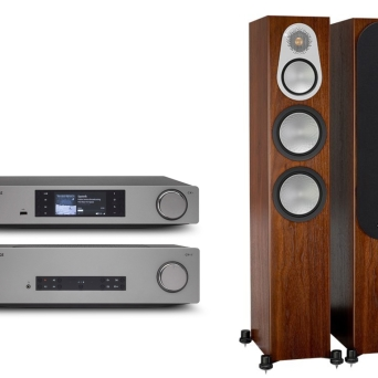 Cambridge Audio CXA81 + CXN v.2 + Monitor Audio Silver 300