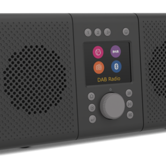 Pure Elan Connect+ black - radio internetowe 357 Nowy Świat / DAB+ / FM / bluetooth