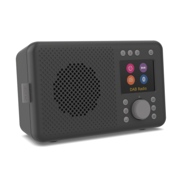Pure Elan Connect - antracyt - radio internetowe 357 Nowy Świat / DAB+ / FM / bluetooth